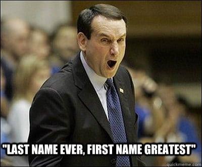Coach K Meme 3