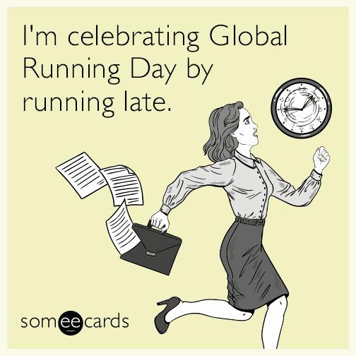 Global Running Day Meme 12