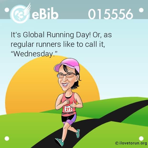 Global Running Day Meme 9