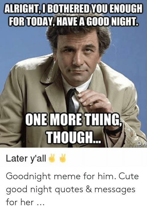 Goodnight Memes For Him 3