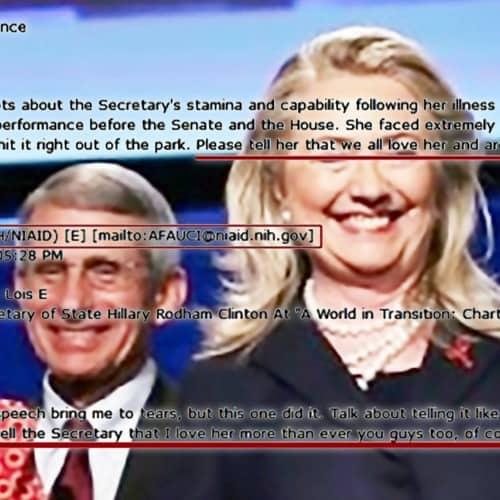 Hillary Fauci Meme 9