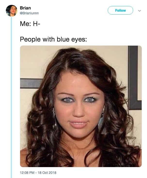 Miley Cyrus Staring Meme 11