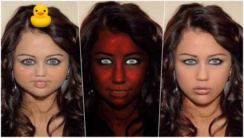 Miley Cyrus Staring Meme 4
