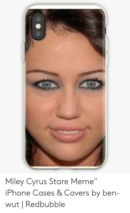 Miley Cyrus Staring Meme 5 1