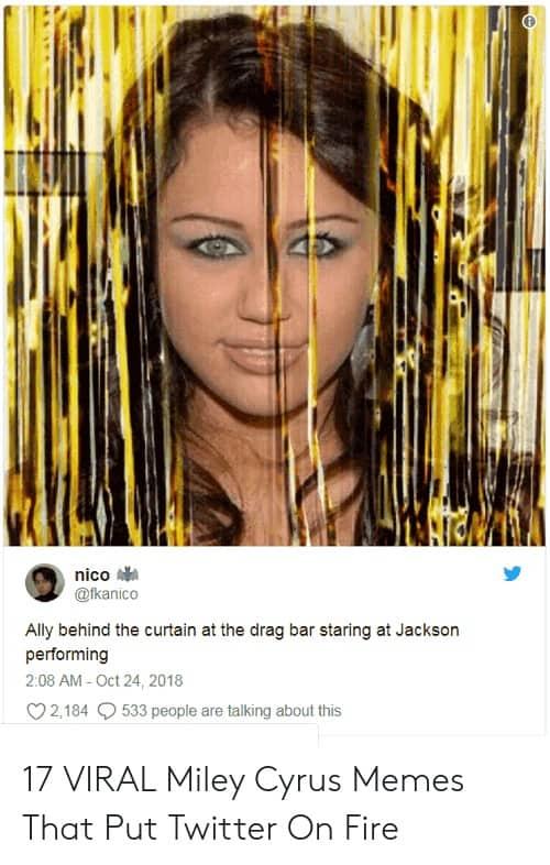 Miley Cyrus Staring Meme 6 1