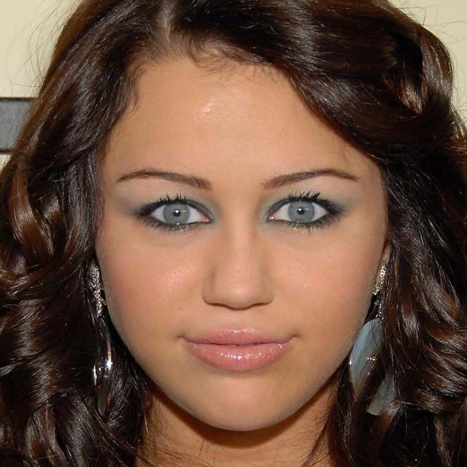 Miley Cyrus Staring Meme 6