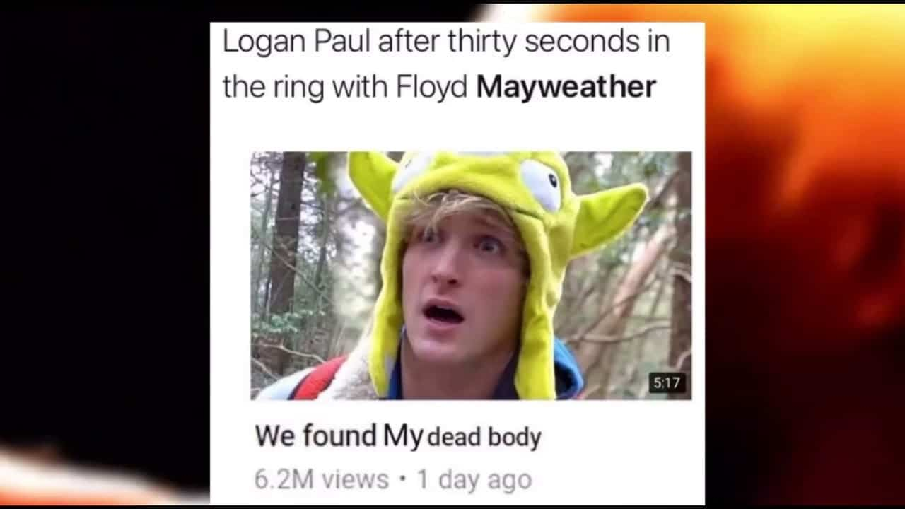 logan paul mayweather meme 13