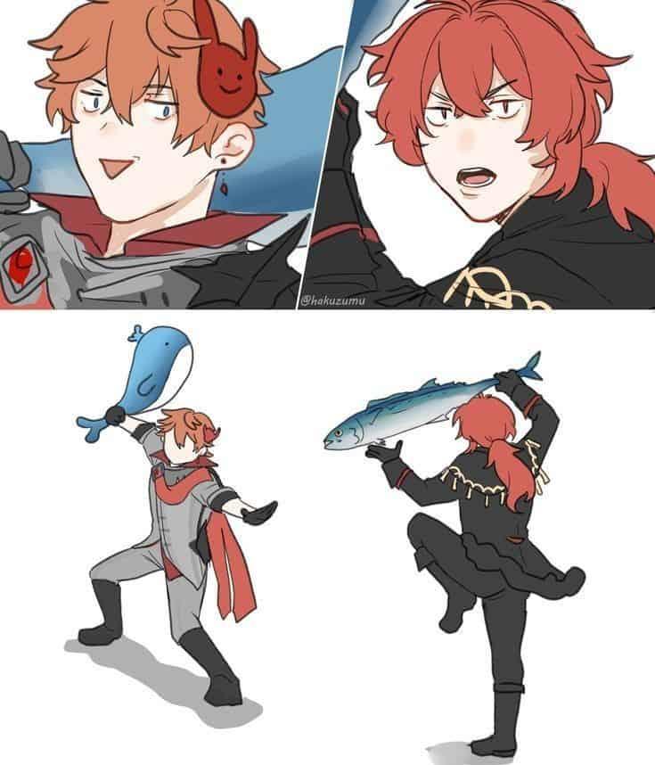 Cursed memes anime 8
