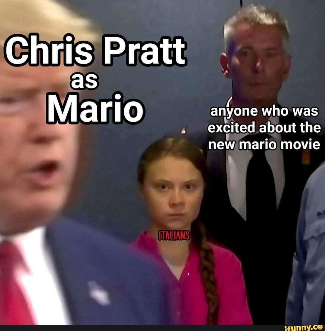 chris pratt mario memes 3